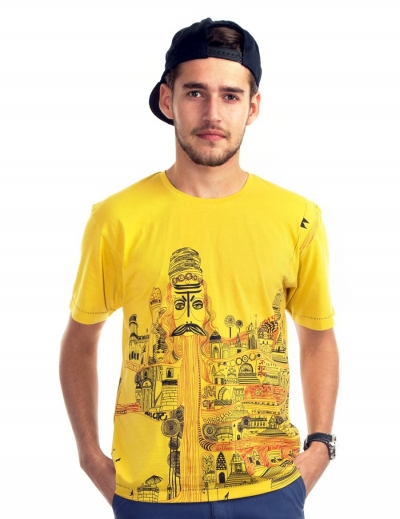 Kashi Men's Graphic T-shirt
