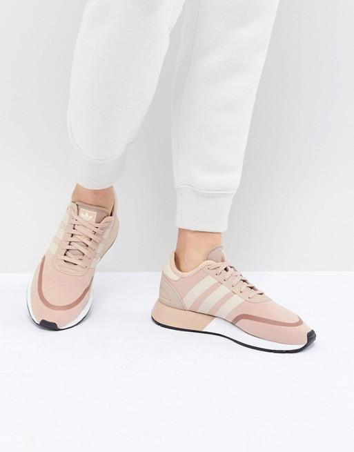 Розовые кроссовки для бега adidas Originals N-5923