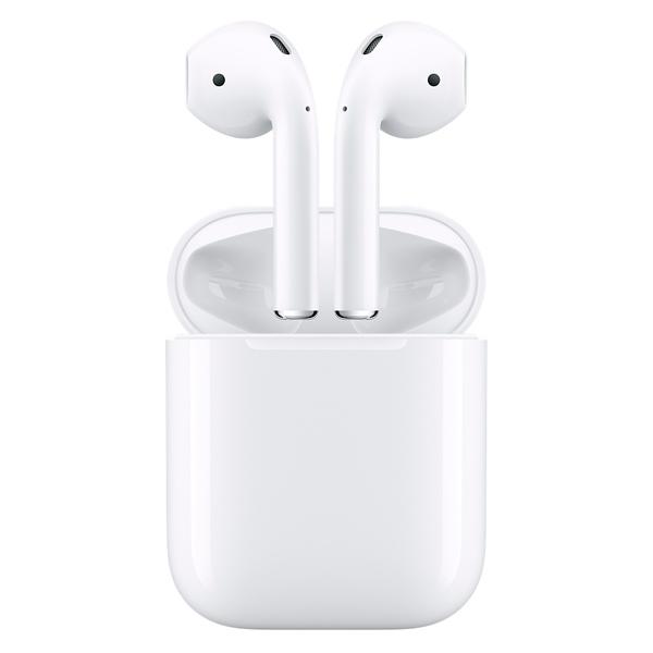 Беспроводные наушники Apple AirPods с зарядным чехлом